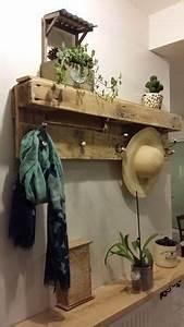 Porte Manteau Deco : d co salon porte manteau en bois de palette leading inspiration culture ~ Teatrodelosmanantiales.com Idées de Décoration
