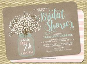 printable bridal shower invitations free premium templates With wedding shower invitations templates