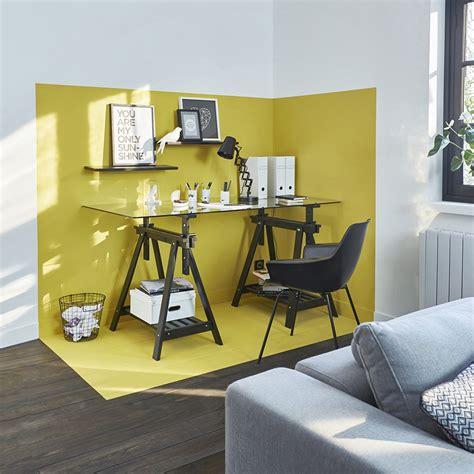 petit bureau de travail les couleurs qui favorisent la concentration et la