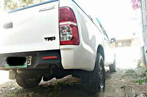 White Toyota Hilux 2012 For Sale In Manual