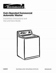Kenmore Washer 3948597b User Guide