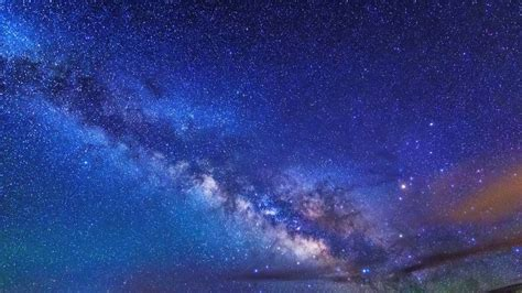 Beautiful Night Sky With Milky Way Youtube