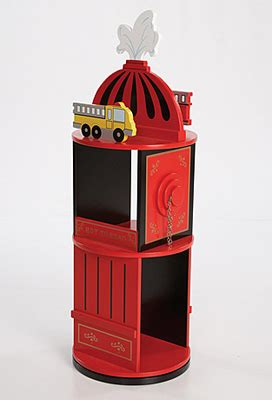 Levels Of Discovery Bookcase by Levels Of Discovery Firefighter Revolving Bookcase