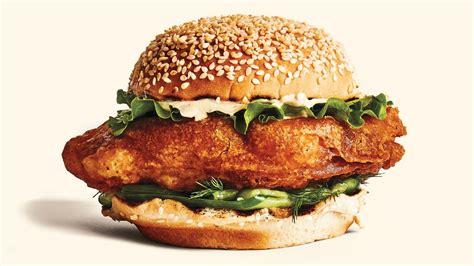 fried fish sandwiches  cucumbers  tartar sauce recipe bon appetit