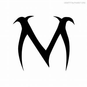 Letter M Font Styles | Letters Example