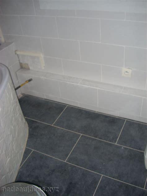 carrelage sol salle de bain gris peinture faience salle