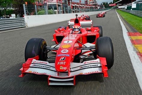 ferrari  stop selling retired formula  cars  customers