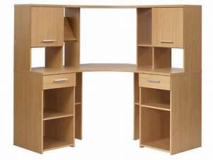 Armoire Angle Ikea : bureau d angle informatique meuble ordinateur conforama lepolyglotte ~ Teatrodelosmanantiales.com Idées de Décoration