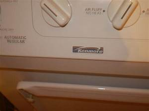 My Kenmore Stackable Washer And Dryer  Model No  970 Grinding