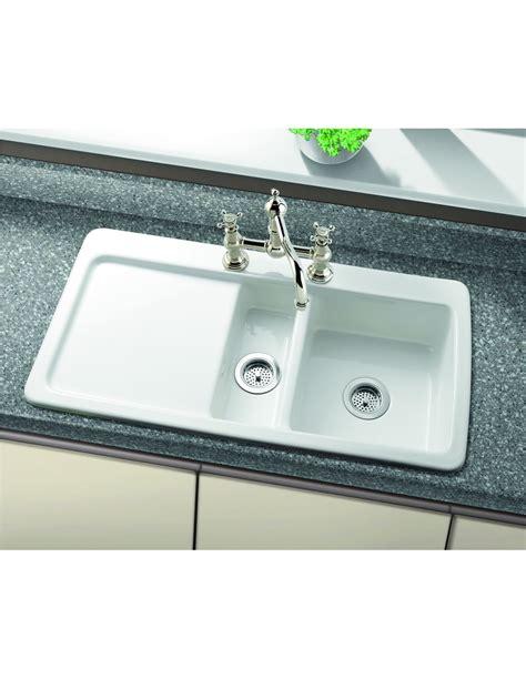ceramic kitchen sinks reviews new wave ceramic sink by villeroy boch 1 5 bowl 5181