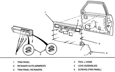 repair windshield wipe control 1992 cadillac fleetwood seat position control repair guides interior door panels autozone com