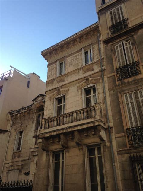 maison de ville marseille fa 231 ade de maison de ville de style nouveau 224 marseille m 224 j architectes