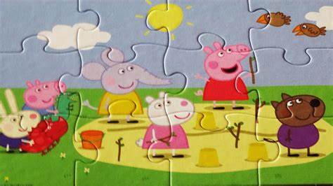 tappeto puzzle peppa pig puzzle peppa pig jigsaw puzzles rompecabezas jumbo