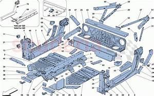 Ferrari 488 Spider Central Elements And Panels Parts
