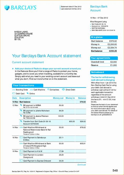 fake chase bank statement template   credit