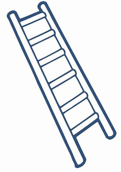 Ladder Clipart Background Clip Cliparts Construction Ladders