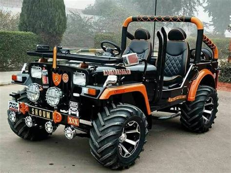 Black Willy Open Jeep, Rs 390000 /piece, Sandeep Jeeps