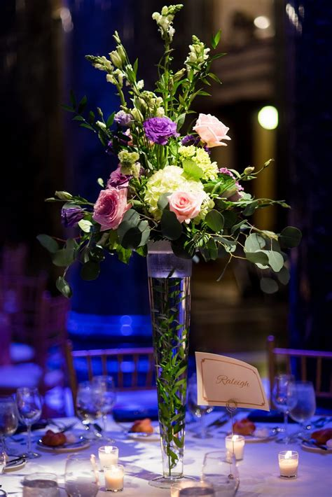 Pittsburgh Wedding Reception And Event Flowers Table