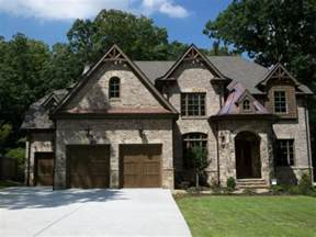 Brick Homes with Stone Accents
