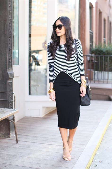 Black Pencil Skirt Outfits Casual | www.imgkid.com - The Image Kid Has It!
