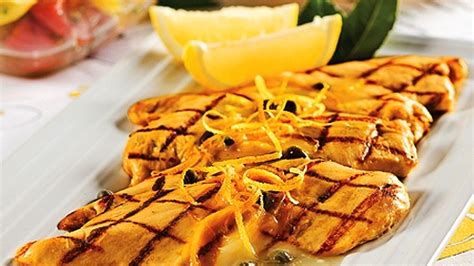 cuisiner des escalopes de poulet escalope de poulet au citron et câpres recettes de