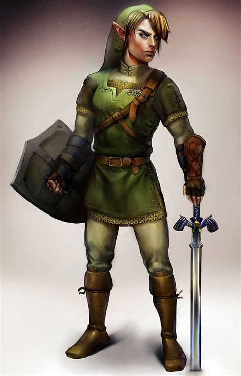 Link Concept Art By Ajennypenny On Newgrounds