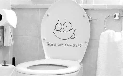 cuvette de toilette originale stickers toilette lunette