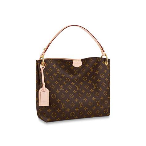 graceful pm monogram canvas handbags louis vuitton