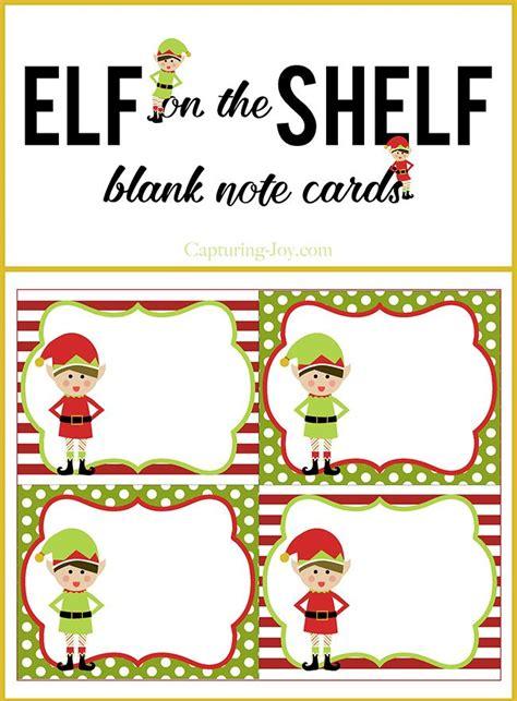 elf   shelf blank note cards note cards elves