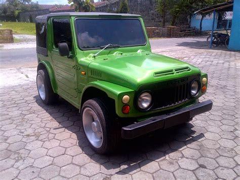Foto Mobil Jeep Modifikasi by Galeri Foto Modifikasi Mobil Jeep Suzuki Jimny Modif