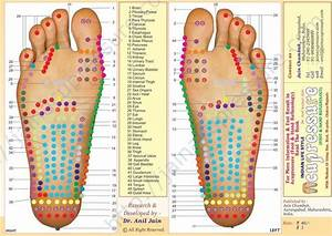 Foot Acupuncture Points Chart