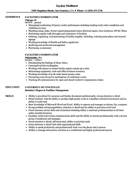 Facilities Coordinator Resume Samples  Velvet Jobs. Best Font To Use For Resume. Resume Outline Free. Resume Template Doc. Sample Resume Of Graphic Designer. Finance Resume Objective. Resume For A College Student. Bank Reconciliation Resume Sample. Myperfect Resume