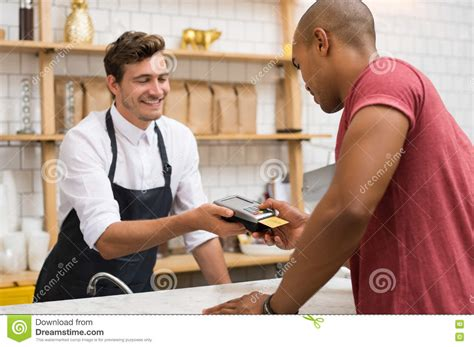Check spelling or type a new query. Customer Paying With Credit Card Stock Image - Image of ...