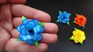 Blumen Aus Servietten Basteln : rosen basteln mit papier kleine blumen als diy deko ~ A.2002-acura-tl-radio.info Haus und Dekorationen