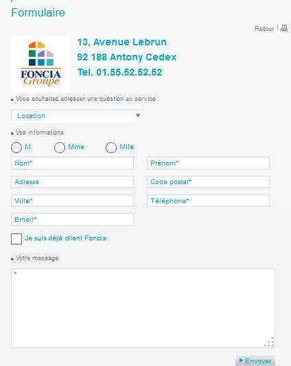 siege foncia service clients foncia