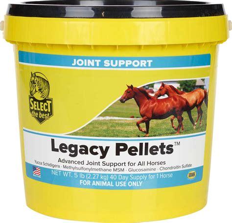 horses joint support senior legacy select supplements equine multi write valleyvet