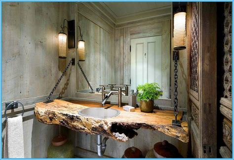 rustic bathroom decor ideas 35 exceptional rustic bathroom designs filled with