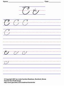 cursive writing worksheets letter b 6 best images of With basic cursive letters