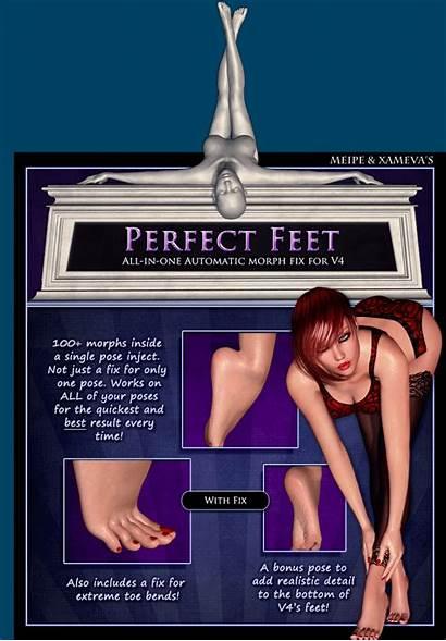Feet Perfect V4 3d Figure Fix Automatic