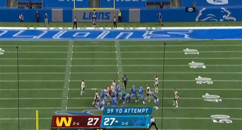 Matt Prater nails 59-yarder for the win after the Lions ...