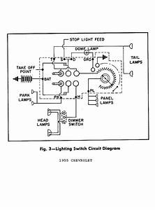1957 Chevy Headlight Switch Diagram