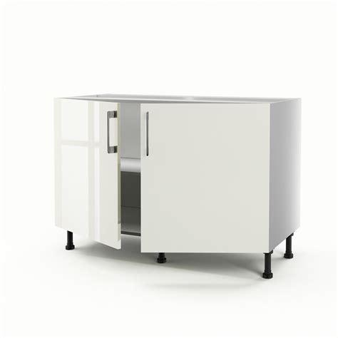 meuble sous evier cuisine castorama affordable meuble de cuisine sousvier beige portes perle