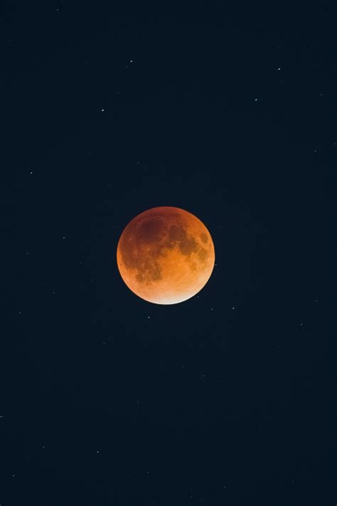 wallpaper lunar eclipse moon  space