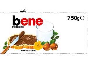 gratis logo design dein nutella persönliches etikett zum ausdrucken chip