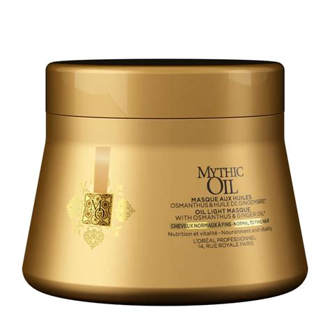 loreal professionnel mythic oil masque cheveux normaux