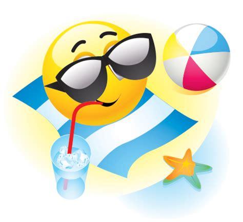 summer vacation emoticon symbols emoticons
