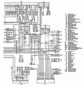 Mercedes-benz 300ce  1992 - 1993  - Wiring Diagrams