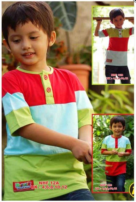 gambar contoh model baju muslim anak laki laki model