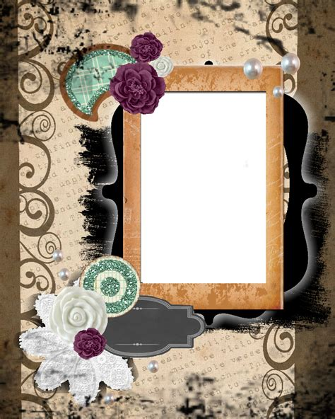 sweetly scrapped  printable scrapbook layout kit