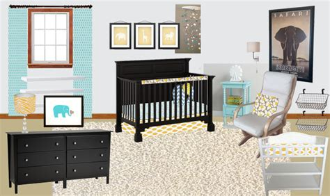 Neutral To Not So Neutral Nursery  The Caldwell Project
